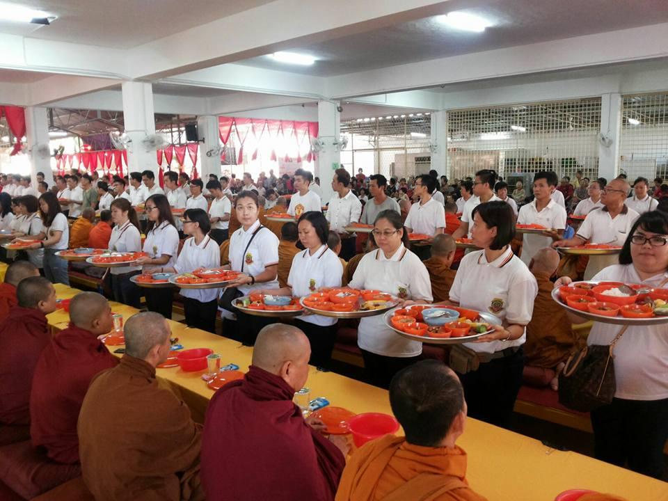槟城佛学院常年南传供僧法会