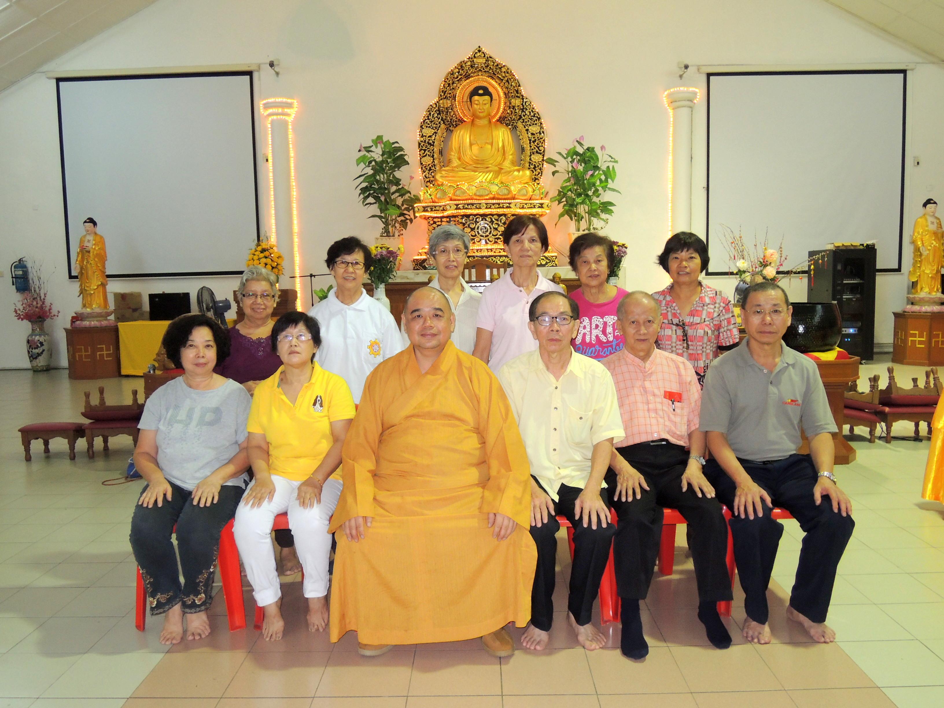 2016年诗布朗再也佛教会第16届会员大会